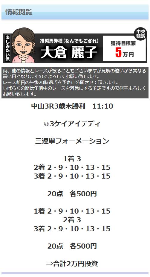 【競馬王】0318