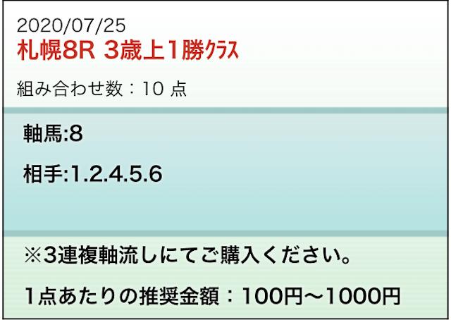 勝馬の栞7月25日無料