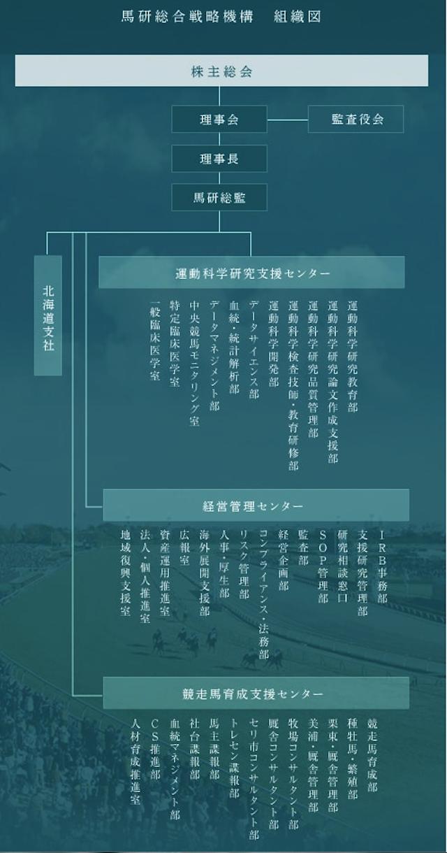 馬研総合戦略組織図